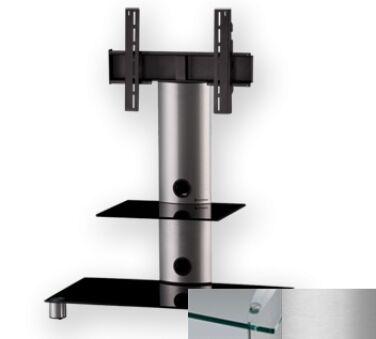 Sonorous PL2380CSLV - Meuble pour ecran Plasma/LCD en verre et aluminium