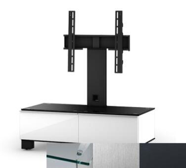 Sonorous MD8095CINXGRP - Meuble pour ecran Plasma/LCD en verre et bois