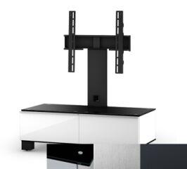 Sonorous MD8095BINXGRP - Meuble pour ecran Plasma/LCD en verre et bois
