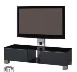 Meuble TV Sonorous Mood MD 8120 Inox et Gris