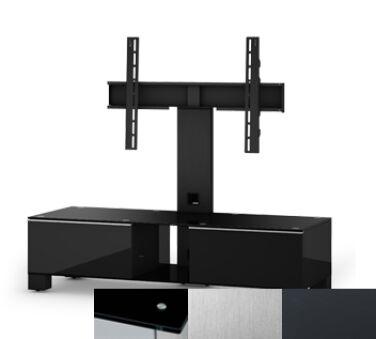 Sonorous MD8120BINXGRP - Meuble pour ecran Plasma/LCD en verre et bois