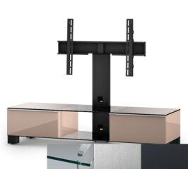 Sonorous MD8140CINXGRP - Meuble pour ecran Plasma/LCD en verre et bois