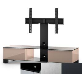 Sonorous MD8140BINXGRP - Meuble pour ecran Plasma/LCD en verre et bois