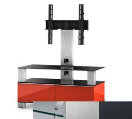 Sonorous MD8953CINXGRP - Meuble pour ecran Plasma/LCD en verre et bois