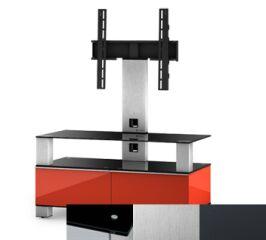 Sonorous MD8953BINXGRP - Meuble pour ecran Plasma/LCD en verre et bois