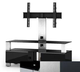 Sonorous MD8123BINXGRP - Meuble pour ecran Plasma/LCD en verre et bois