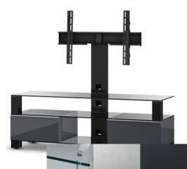 Sonorous MD8143CINXGRP - Meuble pour ecran Plasma/LCD en verre et bois