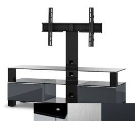 Sonorous MD8143BINXGRP - Meuble pour ecran Plasma/LCD en verre et bois