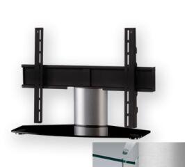 Sonorous PL2310CSLV - Meuble pour ecran Plasma/LCD en verre et aluminium