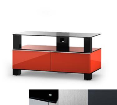 Sonorous MD9095BINXGRP - Meuble pour ecran Plasma/LCD en verre et bois