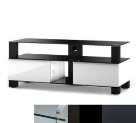 Sonorous MD9120CHBLKGRP - Meuble pour ecran Plasma/LCD en verre et bois