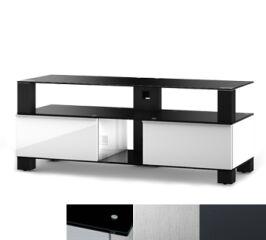 Sonorous MD9120BINXGRP - Meuble pour ecran Plasma/LCD en verre et bois