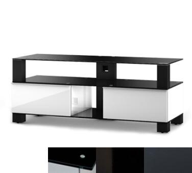Sonorous MD9120BHBLKGRP - Meuble pour ecran Plasma/LCD en verre et bois