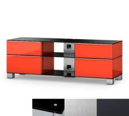 Sonorous MD9240BINXGRP - Meuble pour ecran Plasma/LCD en verre et bois