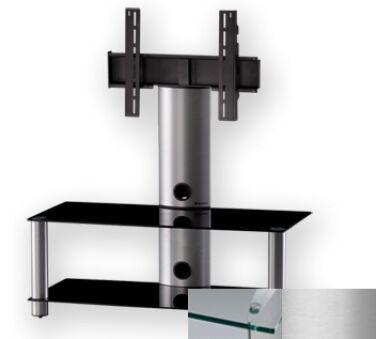 Sonorous PL2395CSLV - Meuble pour ecran Plasma/LCD en verre et aluminium