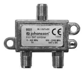 Johansson 9501 - Coupleurs