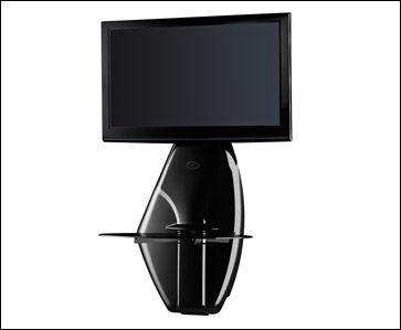 Support mural tv Meliconi GHOST DESIGN 500 - Noir