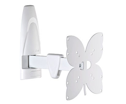 Support mural tv Meliconi R200 - Blanc