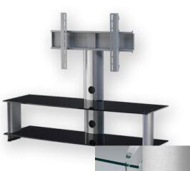 Sonorous PL2000CSLV - Meuble pour ecran Plasma/LCD en verre et aluminium