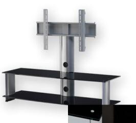 Sonorous PL2000BHBLK - Meuble pour ecran Plasma/LCD en verre et aluminium