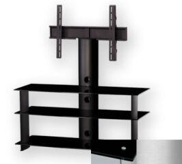 Sonorous PL2130BSLV - Meuble pour ecran Plasma/LCD en verre et aluminium