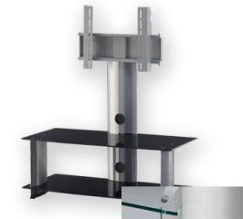 Sonorous PL2195CSLV - Meuble pour ecran Plasma/LCD en verre et aluminium