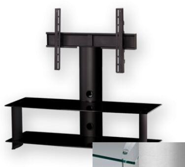 Sonorous PL2100CSLV - Meuble pour ecran Plasma/LCD en verre et aluminium