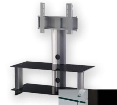 Sonorous PL2195CHBLK - Meuble pour ecran Plasma/LCD en verre et aluminium