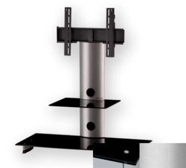 Sonorous PL2200BSLV - Meuble pour ecran Plasma/LCD en verre et aluminium