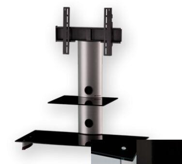 Sonorous PL2200BHBLK - Meuble pour ecran Plasma/LCD en verre et aluminium