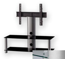 Sonorous PL2300CSLV - Meuble pour ecran Plasma/LCD en verre et aluminium
