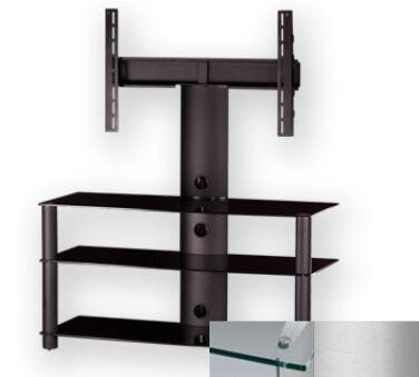 Sonorous PL2330CSLV - Meuble pour ecran Plasma/LCD en verre et aluminium