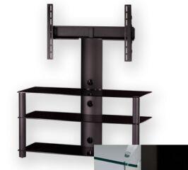 Sonorous PL2330CHBLK - Meuble pour ecran Plasma/LCD en verre et aluminium
