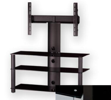 Sonorous PL2330BHBLK - Meuble pour ecran Plasma/LCD en verre et aluminium