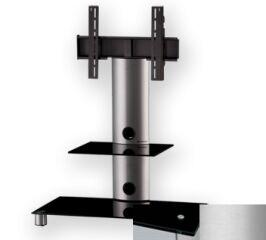 Sonorous PL2380BSLV - Meuble pour ecran Plasma/LCD en verre et aluminium
