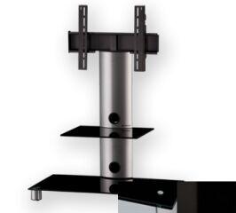 Sonorous PL2380BHBLK - Meuble pour ecran Plasma/LCD en verre et aluminium