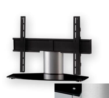Sonorous PL2310BSLV - Meuble pour ecran Plasma/LCD en verre et aluminium