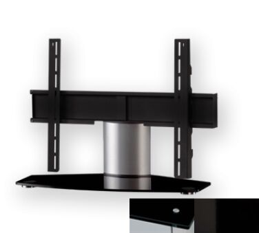 Sonorous PL2310BHBLK - Meuble pour ecran Plasma/LCD en verre et aluminium
