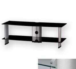 Sonorous PL3110CSLV - Meuble pour ecran Plasma/LCD en verre et aluminium