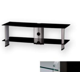Sonorous PL3110CHBLK - Meuble pour ecran Plasma/LCD en verre et aluminium