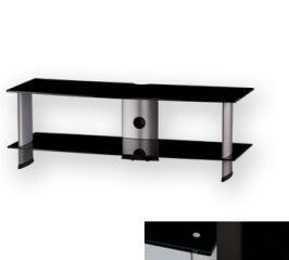 Sonorous PL3110BHBLK - Meuble pour ecran Plasma/LCD en verre et aluminium