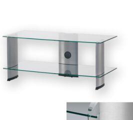 Sonorous PL3115CSLV - Meuble pour ecran Plasma/LCD en verre et aluminium