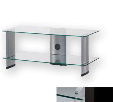 Sonorous PL3115CHBLK - Meuble pour ecran Plasma/LCD en verre et aluminium