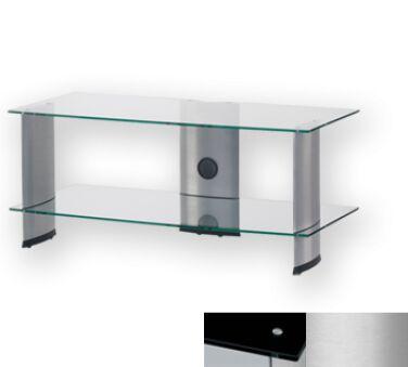 Sonorous PL3115BSLV - Meuble pour ecran Plasma/LCD en verre et aluminium