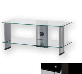Sonorous PL3115BHBLK - Meuble pour ecran Plasma/LCD en verre et aluminium