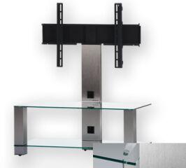 Sonorous PL2495CINX - Meuble pour ecran Plasma/LCD en verre et aluminium