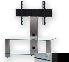 Sonorous PL2495CHBLK - Meuble pour ecran Plasma/LCD en verre et aluminium