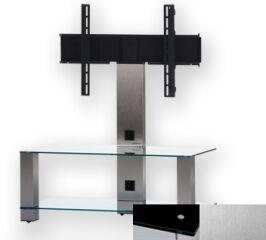 Sonorous PL2495BINX - Meuble pour ecran Plasma/LCD en verre et aluminium