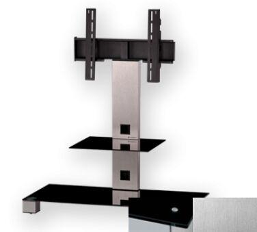 Sonorous PL2500BINX - Meuble pour ecran Plasma/LCD en verre et aluminium