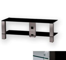 Sonorous PL3410CHBLK - Meuble pour ecran Plasma/LCD en verre et aluminium